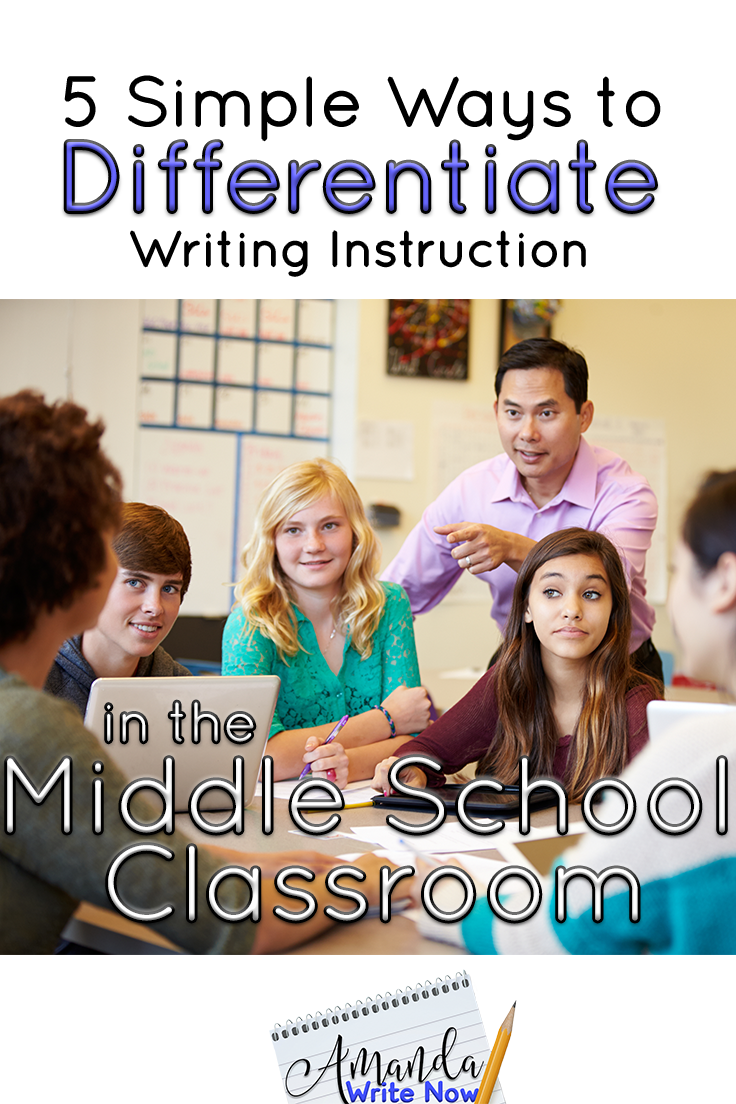 differentiated instruction creative writing My favorite instruction when differentiating by outcome is show me a emma has an english/ creative writing degree and enjoys writing about a range.