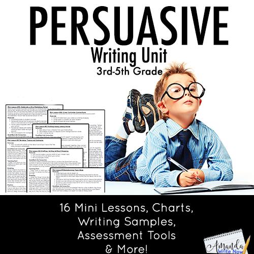 3rd-5th Grade Narrative Writing Unit - Amanda Write Now